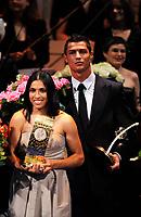 Die Sieger Marta und Cristiano Ronaldo. © Valeriano Di Domenico/EQ Images