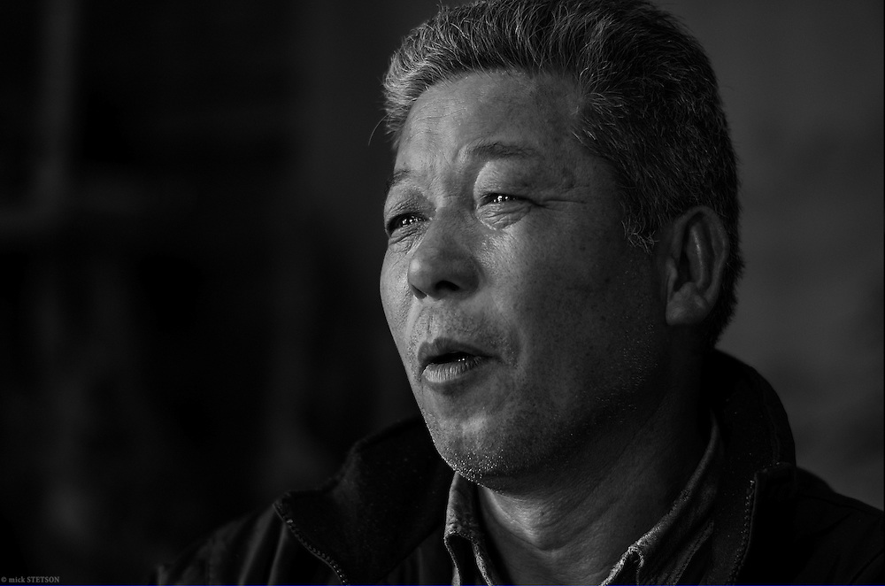 — Masato was once a leader for the Minamata disease patients who were trying to obtain compensation from the Chisso Corporation in Japan. He is a fisherman and also a victim of the disease — one of Minamata's living legacies.