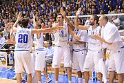 Trieste, 02/09/2012<br /> Basket, Eurobasket 2013 Qualifying Round<br /> Italia - Repubblica Ceca<br /> Nella foto: esultanza team italia, Danilo Gallinari<br /> Foto Ciamillo