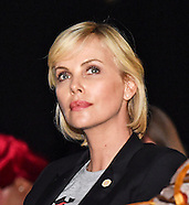 Charlize Theron Attends 21st International AIDS Conference, S Africa