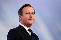 David Cameron MP Prime Minister, speaks at the CBI annual conference in the Hilton Interpole, London, United Kingdom. Monday, 4th November 2013. Picture by Ben Stevens / i-Images