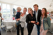 GEORGE COPCUTT; JESSICA COPCUTT; ARABELLA MACKENZIE-SMITH; HUGO MACKENZIE-SMITH; EMMA LUARD, The Dalwhinnie Crook  charity Polo match  at Longdole  Polo Club, Birdlip  hosted by the Halcyon Gallery. . 12 June 2010. -DO NOT ARCHIVE-© Copyright Photograph by Dafydd Jones. 248 Clapham Rd. London SW9 0PZ. Tel 0207 820 0771. www.dafjones.com.