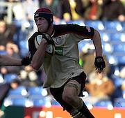 02/03/2003.Sport - 2003 Powergen Cup Semi- final - London Irish v Northampton Saints.Exile's Nick Kennedy..