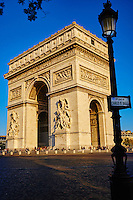 France, Paris (75), place de l'Etoile, Arc de Triomphe // France, Paris, Arc de Triomphe