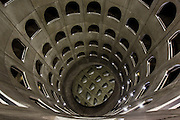 Parking des Celestins des architectes : M.Targe et J.M Wilmotte et l'artiste : D. Buren // Celestion car park from M.Targe et J.M Wilmotte archtects and artist : D. Buren