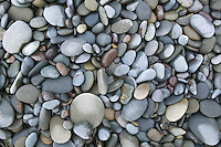 Closeup of rocks and pebbles on Rialto Beach Washington USA&#xA;<br />