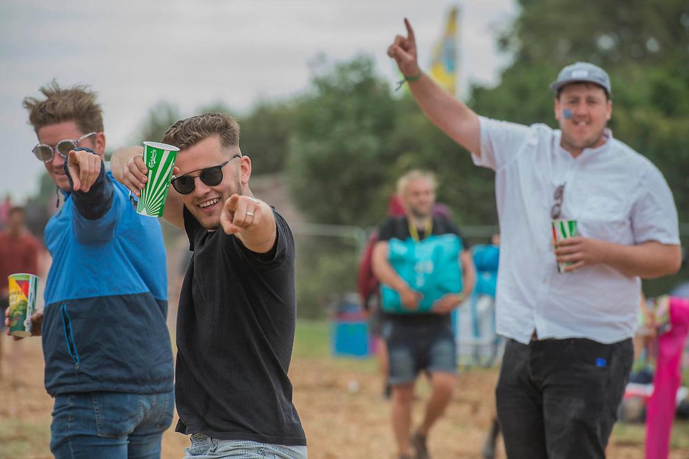 The 2017 Glastonbury Festival, Worthy Farm. Glastonbury, 2 June 2017