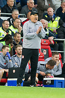 Football - 2014 / 2015 Sky Bet Championship - Cardiff City vs. Leeds United<br /> <br /> Cardiff City manager Russell Slade at the Cardiff City Stadium.<br /> <br /> COLORSPORT/WINSTON BYNORTH