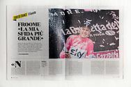 2018-07-07 Sportweek n27 - Giro d'Italia Froome podium