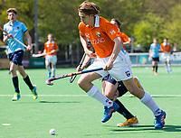 BLOEMENDAAL - Hockey- competitiewedstrijd Bloemendaal JB1-Nijmegen JB1 .  COPYRIGHT KOEN SUYK