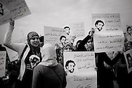 EGYPT, Cairo: March to Television's State building ph. Christian Minelli.