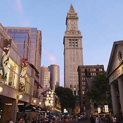 Quincy Market in downtown Boston.
