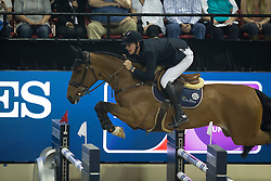 Verlooy Jos, (BEL), Domino<br /> Longines FEI World Cup™ Jumping Final III round 1<br /> Las Vegas 2015<br />  © Hippo Foto - Dirk Caremans<br /> 19/04/15