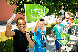 The fans during 2nd Stage of 26th Tour of Slovenia 2019 cycling race between Maribor and  Celje (146,3 km), on June 20, 2019 in Celje, Maribor, Slovenia. Photo by Vid Ponikvar / Sportida