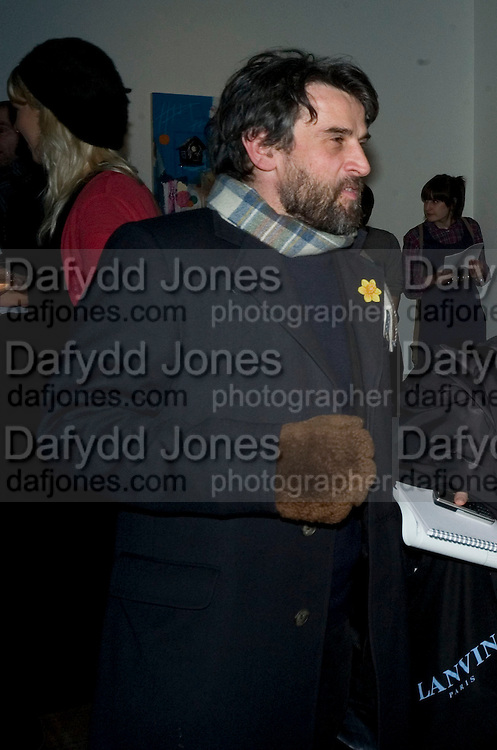PAUL FRYER, Happiness- Private view of work by Barry Reigate. Paradise Row, London and afterwards at Mark hix's new restaurant. ix Oyster and Chop House, 37-37 Greenhill Rents, Cowcross St, EC1. 14 March 2008. <br /> *** Local Caption *** -DO NOT ARCHIVE-&copy; Copyright Photograph by Dafydd Jones. 248 Clapham Rd. London SW9 0PZ. Tel 0207 820 0771. www.dafjones.com.