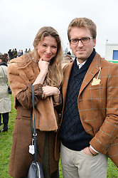 ALI & CHELSEA COUTTS-WOOD at the 2015 Hennessy Gold Cup held at Newbury Racecourse, Berkshire on 28th November 2015.