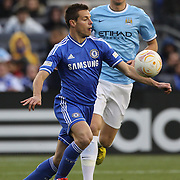Cesar Azpilicueta Chelsea in action during the Manchester City V Chelsea friendly exhibition match at Yankee Stadium, The Bronx, New York. Manchester City won the match 5-3. New York. USA. 25th May 2012. Photo Tim Clayton