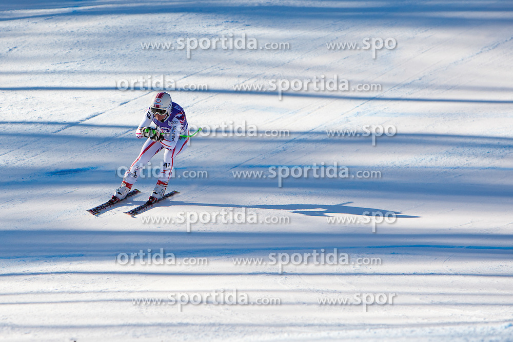 13.01.2012, Pista Olympia delle Tofane, Cortina, ITA, FIS Weltcup Ski Alpin, Damen, Abfahrt, 2. Training, im Bild Andrea Fischbacher (AUT) // Andrea Fischbacher of Austria during ladies downhill 2nd training of FIS Ski Alpine World Cup at 'Pista Olympia delle Tofane' course in Cortina, Italy on 2012/01/13. EXPA Pictures © 2012, PhotoCredit: EXPA/ Johann Groder