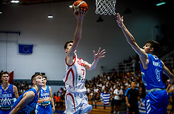 Kurtuldum Mustafa of Turkey  during basketball match between National teams of Turkey and Slovenia in the SemiFinal of FIBA U18 European Championship 2019, on August 3, 2019 in Nea Ionia Hall, Volos, Greece. Photo by Vid Ponikvar / Sportida