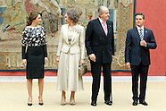 061014 Spanish Royals Host a Reception For the President of Mexico and His Wife