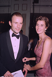 PRINCE & PRINCESS KYRIL OF PRESTLAV ( formerly known as Prince & Princess Kyril of Bulgaria) at a ball in London on 29th September 1997.MBS 55