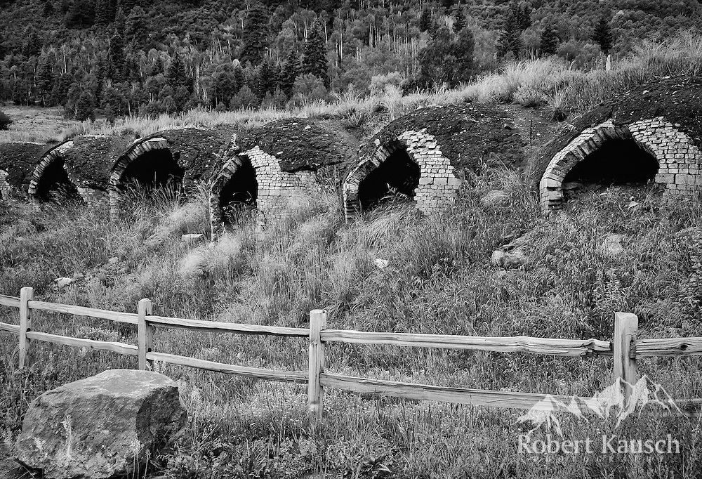 "A view of the coke ovens before ""modernization""..."