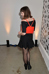 ALEXANDRA ROACH at the launch of The Lulu Perspective to celebrate 25 years of Lulu Guinness held at 74a Newman Street, London on 13th September 2014.