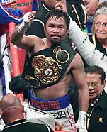 Gene Blevins, Boxing, Vegas