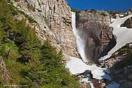Apikuni Falls with snow melt runoff in Glacier National Park, Montana, USA