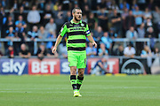 Forest Green Rovers Liam Noble(8) during the EFL Sky Bet League 2 match between Wycombe Wanderers and Forest Green Rovers at Adams Park, High Wycombe, England on 2 September 2017. Photo by Shane Healey.
