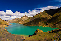 Manla Reservoir, near Gyangze, Tibet (Xizang), China.