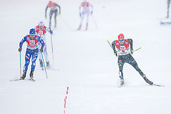 17.12.2017, Nordische Arena, Ramsau, AUT, FIS Weltcup Nordische Kombination, Langlauf, im Bild v.l.: Alessandro Pittin (ITA), Fabian Riessle (GER) // f.l.: Alessandro Pittin of Italy, Fabian Riessle of Germany during Cross Country Competition of FIS Nordic Combined World Cup, at the Nordic Arena in Ramsau, Austria on 2017/12/17. EXPA Pictures © 2017, PhotoCredit: EXPA/ Dominik Angerer
