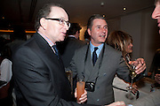 JOHN DAVIS;  JEREMY HACKETT;  Book launch party for the paperback of Nicky Haslam's book 'Sheer Opulence', at The Westbury Hotel. London. 21 April 2010