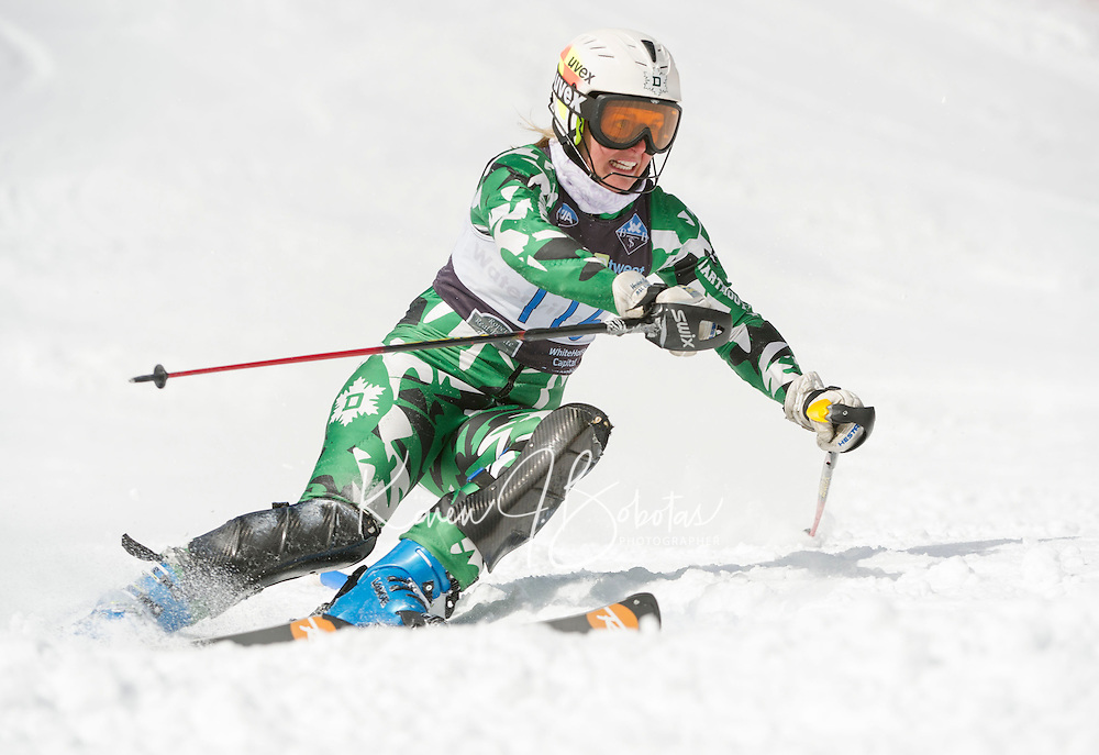 Eastern Cup Slalom at Waterville Valley March 24, 2013.  Karen Bobotas Photographer