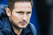 Frank Lampard, Head Coach of Chelsea FC  ahead of the Premier League match between Brighton and Hove Albion and Chelsea at the American Express Community Stadium, Brighton and Hove, England on 1 January 2020.