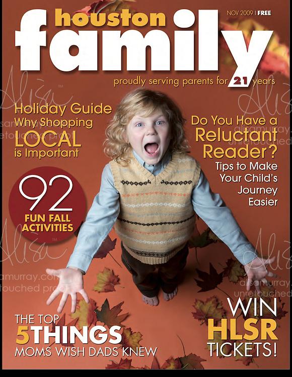 Houston Family Cover November 2009