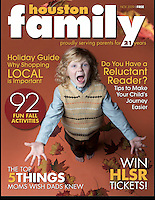 Houston Family Cover November 2009