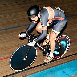 28-12-2015: Wielrennen: NK Baan: Alkmaar   <br />ALKMAAR (NED) baanwielrennen<br />Op de wielerbaan van Alkmaar streden de wielrenners om de nationale baantitels  <br />Elis Ligtlee moest genoegen nemen met een tweede plek op de 500 meter