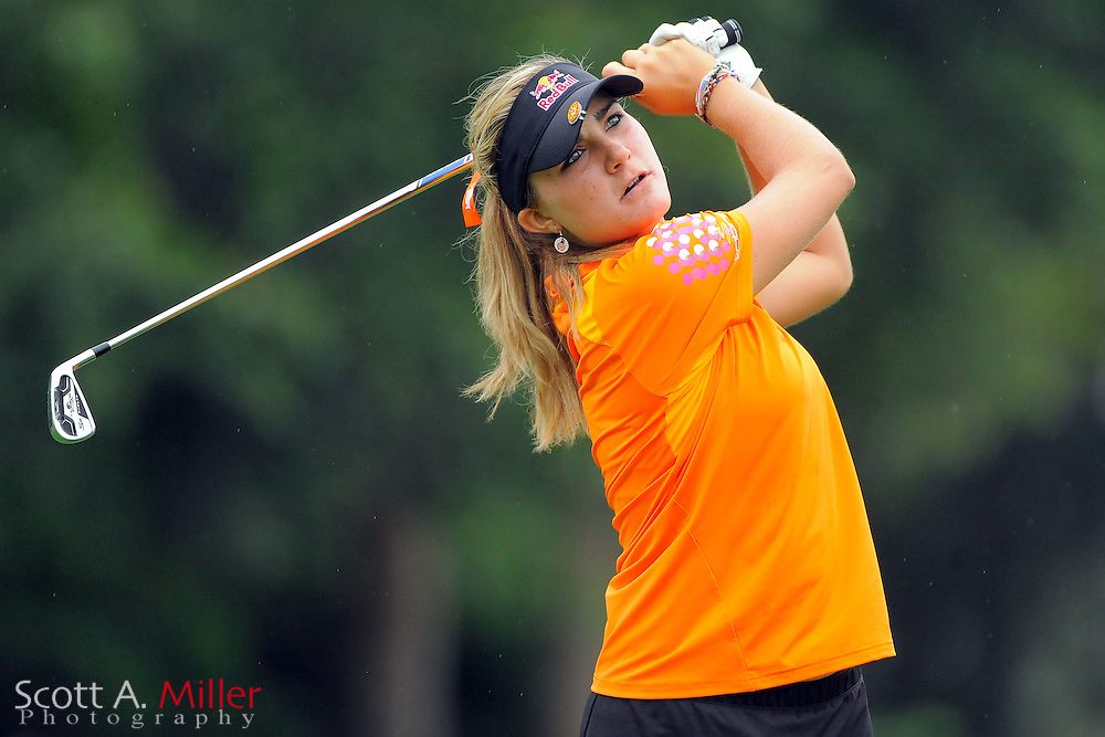 Lexi Thompson during the first round of the CME Group Titleholders at Grand Cypress Resort on Nov. 17, 2011 in Orlando, Fla.  ..©2011 Scott A. Miller