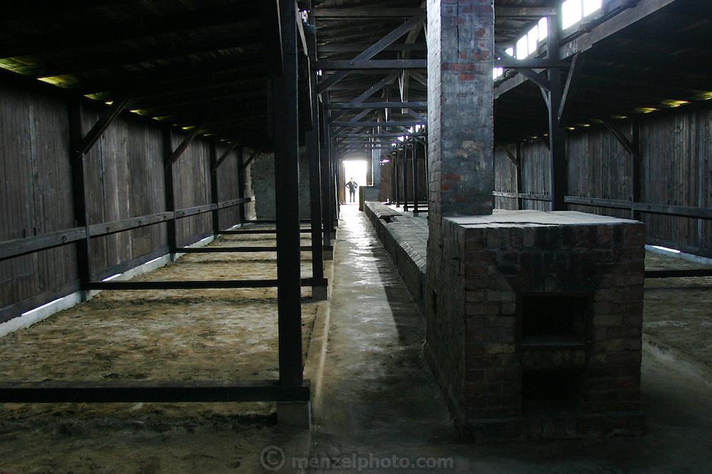 Birkenau Death Camp, Poland barracks.