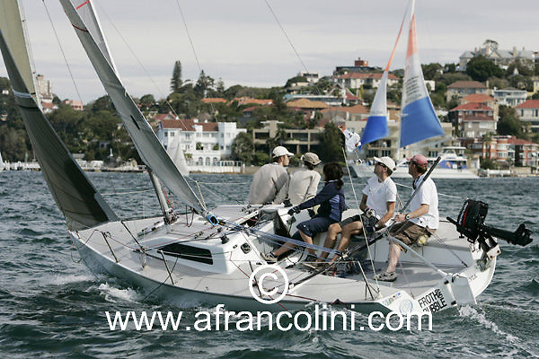 SAILING - BMW Winter Series 2005 - FROTH AND BUBBLE - Sydney (AUS) - 01/05/05 - ph. Andrea Francolini