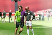 Johan Cruijff ArenA, Amsterdam. FC Kensington vs FC Coen en Sander. Op de foto: Sander Lantinga