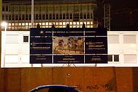 14 JUN 2010, BERLIN/GERMANY:<br /> Baustelle fuer den Neubau des Bundesnachrichtendienstes, BND, Chausseestrasse<br /> IMAGE: 20100614-02-020