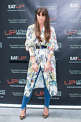 © Licensed to London News Pictures . 31/07/2017 . Manchester , UK . Coronation Street actor Brooke Vincent at the opening event for Up Gym in Spinningfields . Photo credit : Joel Goodman/LNP