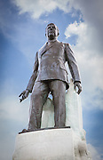 Statue of Huey Long on State Capitol grounds in Baton Rouge, Louisiana