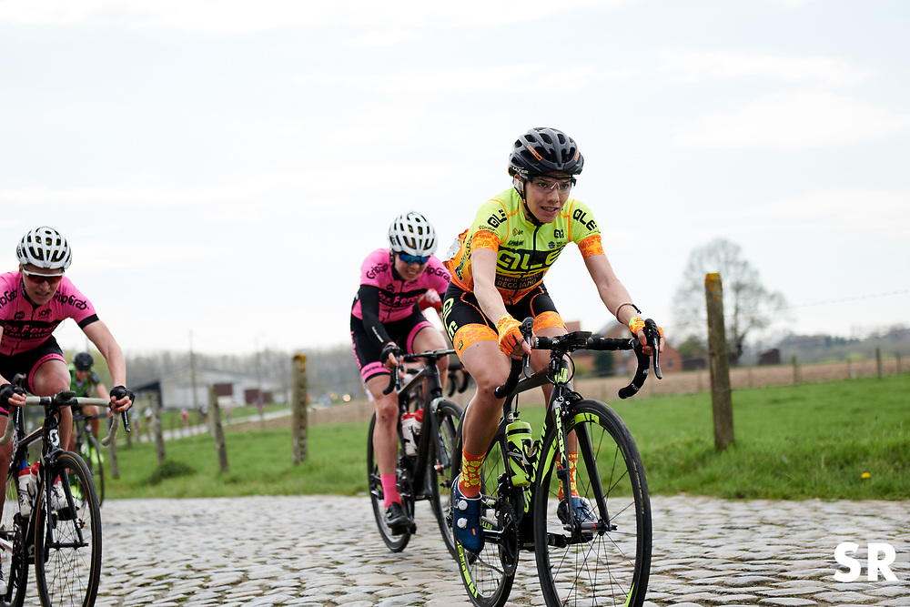 Ane Santesteban (ESP) at Brabantse Pijl 2018, a 136.8 km road race starting and finishing in Gooik on April 11, 2018. Photo by Sean Robinson/Velofocus.com