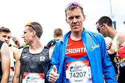 Robert Radojkovic before start of Wings for Life World Run in Zadar on May 5th, 2019, Zadar, Croatia. Photo by Grega Valancic / Sportida