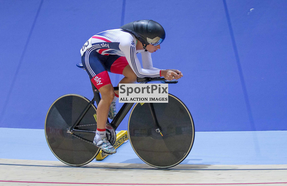 Laura Trott races at the Revoultion Series 2015/6 Round 1 Derby, Day 1, on 14 August 2015 ( (Photo by Mike Poole - Photopoole)