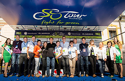 Trophy ceremony after the last Stage 4 of 24th Tour of Slovenia 2017 / Tour de Slovenie from Rogaska Slatina to Novo mesto (158,2 km) cycling race on June 18, 2017 in Slovenia. Photo by Vid Ponikvar / Sportida