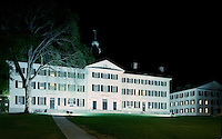 Dartmouth Hall, Night, Hanover, NH